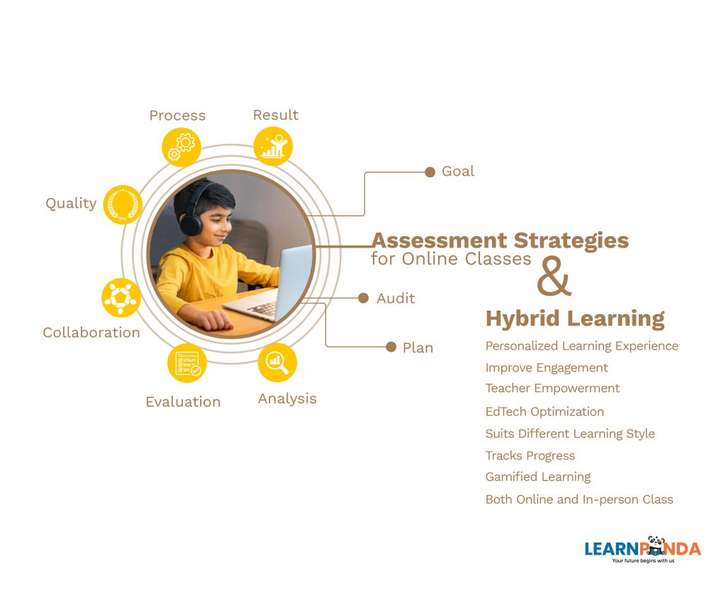 Assessment Strategies for Online Classes and Hybrid Learning